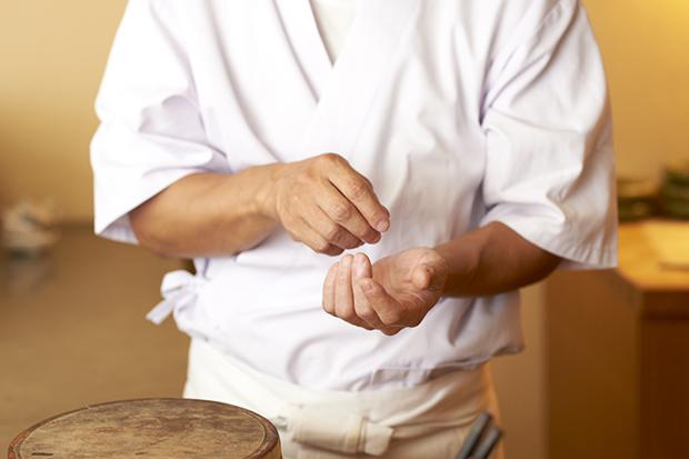 お寿司屋さんを楽しむ
